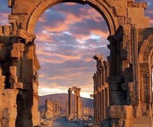 syria, travel, and palmyra image