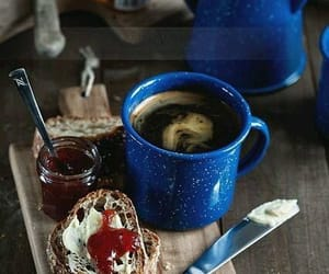 butter, coffee, and jam image