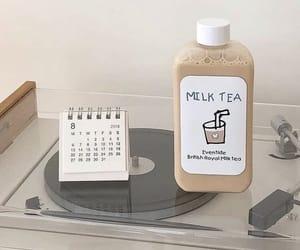 aesthetic, beige, and milk tea image
