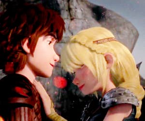 astrid, dreamworks, and toothless image