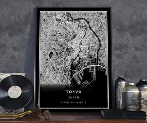 etsy, tokyo, and tokyomap image