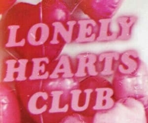 pink, grunge, and hearts image