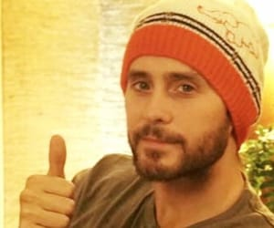 30 seconds to mars, jared leto, and thumbs up image