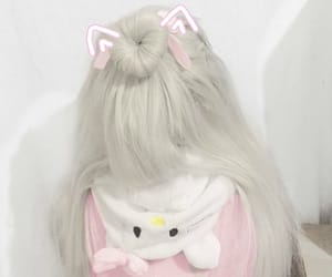 aesthetic, cute, and ears image