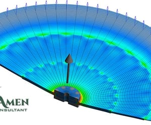 product design services, fea engineering services, and fea analysis services image