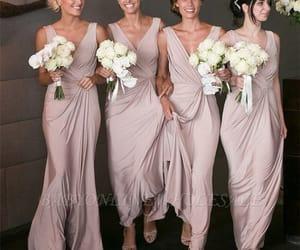 bride, bridesmaid, and fashion image
