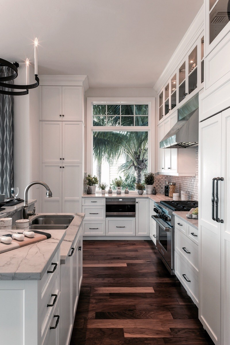 kitchen, home, and interior image