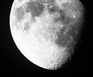 astronomy, moon, and night image