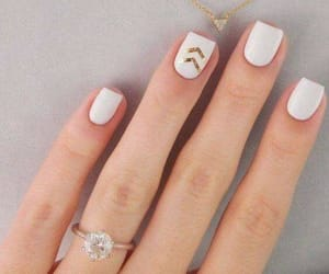 beige, hands, and nail art image