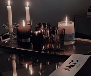 candles, decor, and interior image