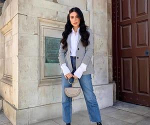 blazer, fashion, and handbag image