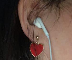 aesthetic, black, and earrings image
