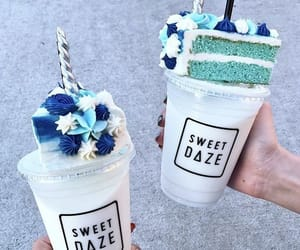 cake, dessert, and drink image