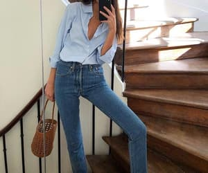 accesories, jeans, and shirt image