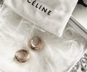 jewelry, celine, and earrings image