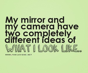 mirror, quote, and camera image