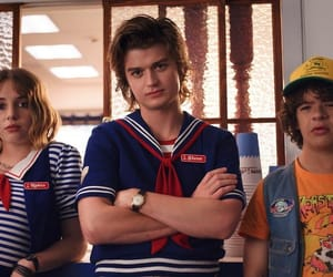 stranger things, robin, and steve harrington image