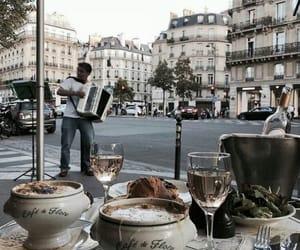 food, city, and coffee image