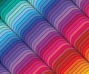 aesthetic, wallpaper, and rainbow image