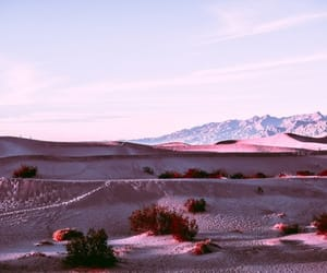 desert, mountains, and nature image