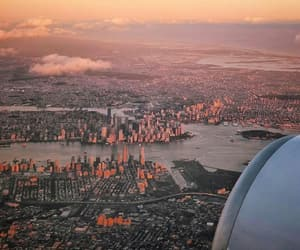 new-york, travelling, and ✈ image
