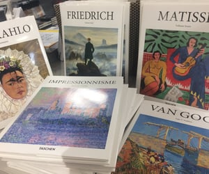 art, books, and matisse image