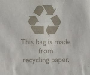 bag, recycling, and environment image