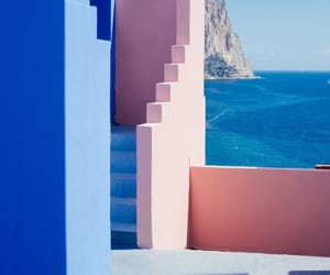 blue, vacation, and architecture image