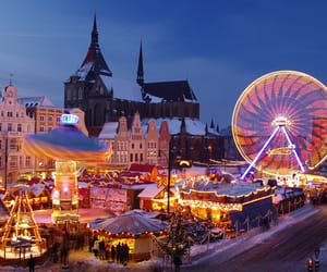 winter, amsterdam, and city image