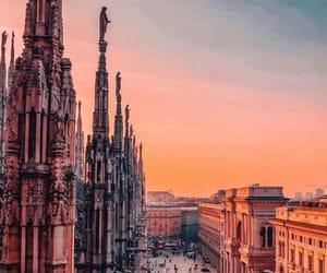 arquitectura, Ciudades, and milan image