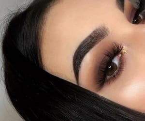 black, girl, and make up image