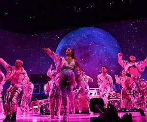 crew, dancers, and moon image
