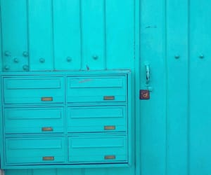 blue, cyan, and doors image