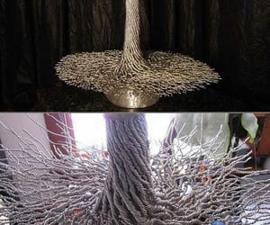 art, wire, and bonsai image