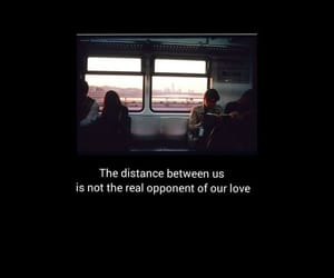 couple, quotes, and distance image