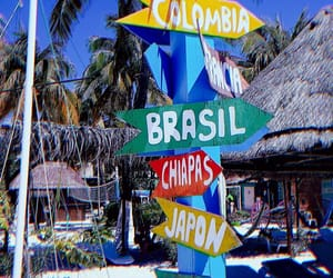 brasil, sun, and colombia image
