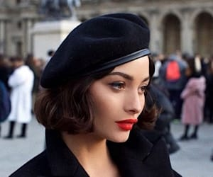 girl, model, and parisienne image