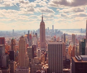 beautiful, city, and empire state image