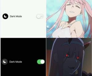 anime, 002, and zero two image