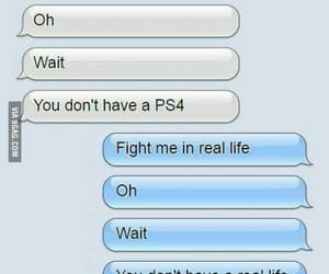 text, ps4, and funny image