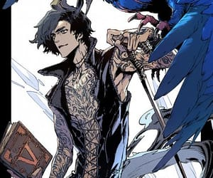 devil may cry, devil may cry 5, and official art image