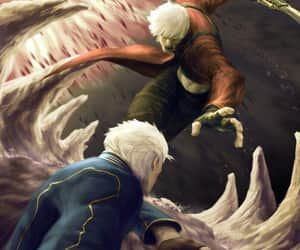 Dante, devil may cry 3, and vergil image