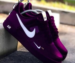 nike, fashion, and purple image