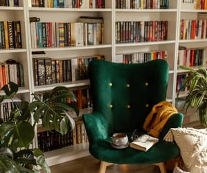 books, cozy, and home image