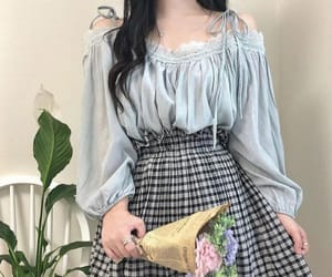 outfit, fashion, and korean image