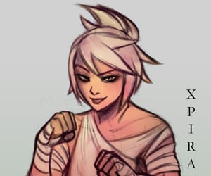 lol, league of legends, and riven image