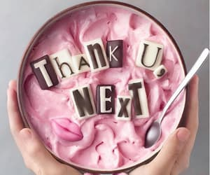 ariana grande, food, and pink image
