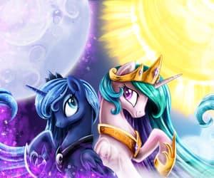luna, moon, and royal image