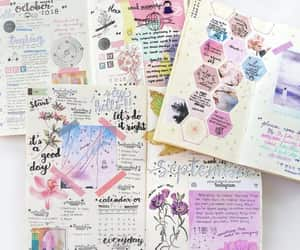 article, notebooks, and school image