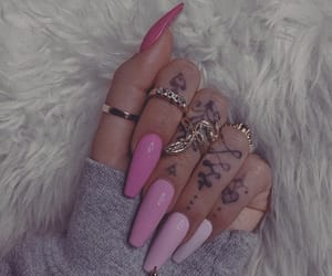 claws, nails, and acrylic nails image